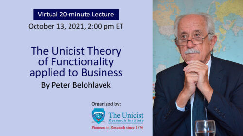 Lecture on the Unicist Theory of Functionality